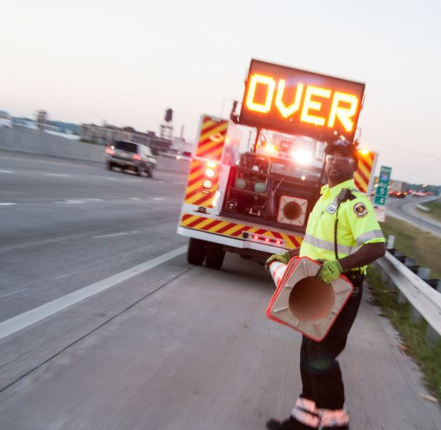Image of ER Helping a motorist (Need Image/Graphic)